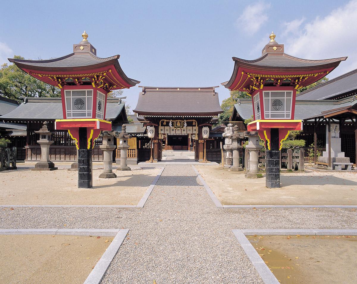 마쓰바라신사(松原神社)