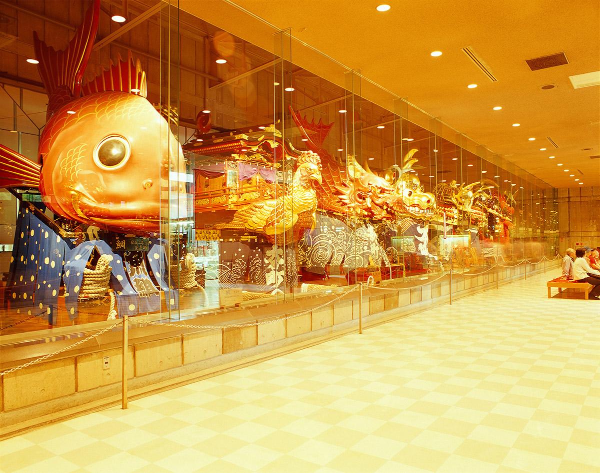 히키야마 전시장(曳山展示場)