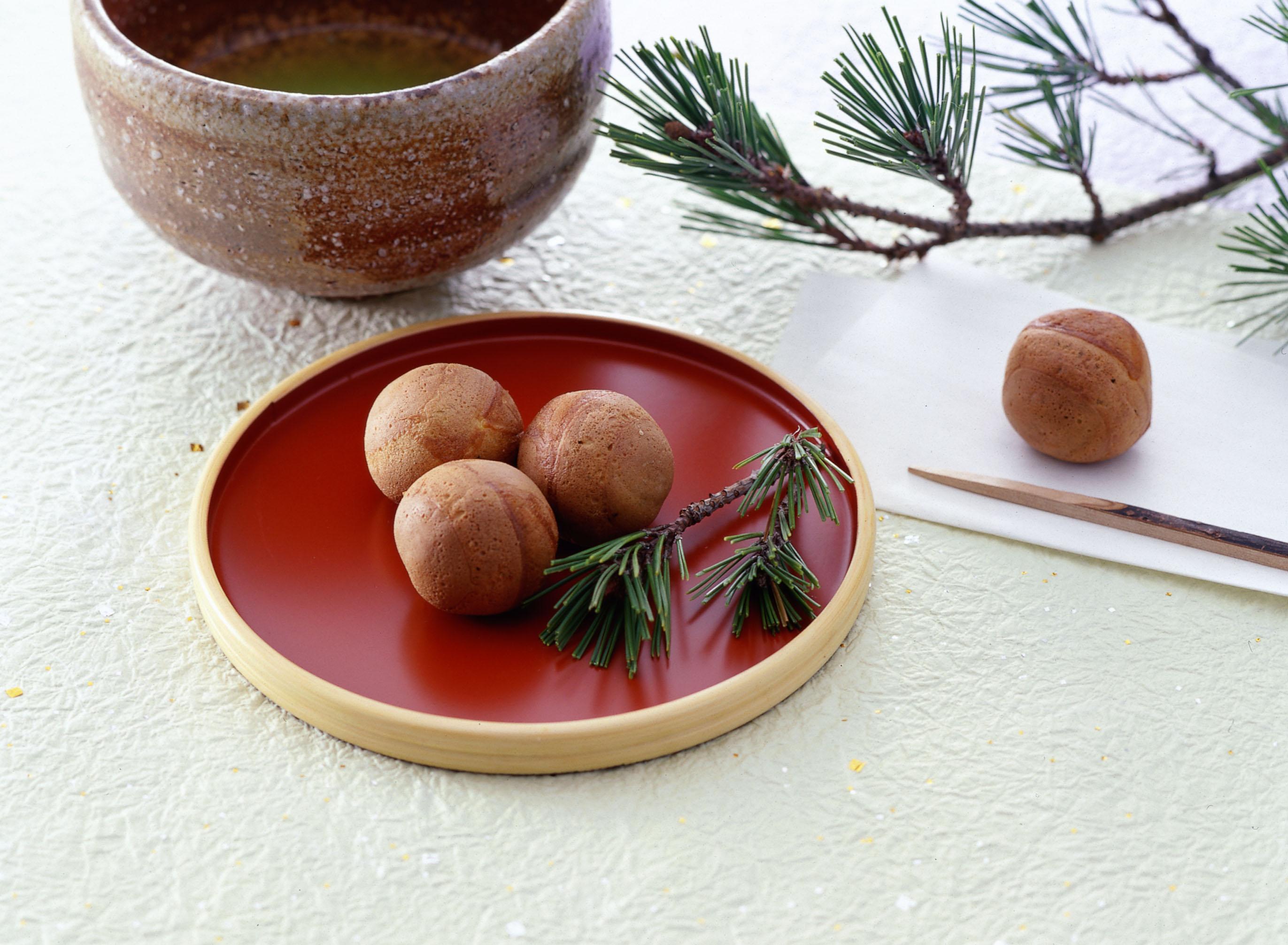 쇼우로만주(松露饅頭)