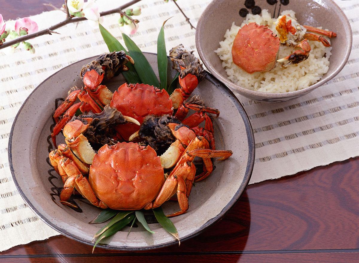쓰가니요리 (ツガニ料理)