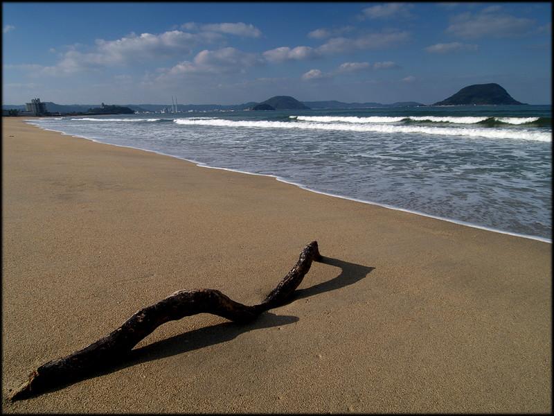 가라쓰만 해변 (唐津湾)